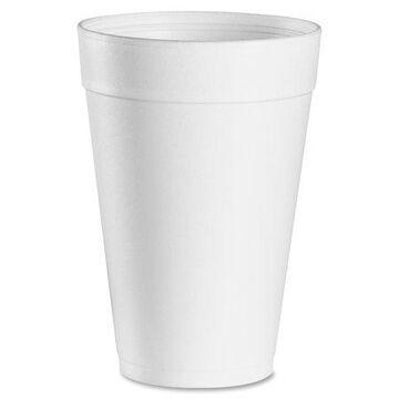 Dart, DCC32TJ32CT, 32 oz Big Drink Foam Cups, 500 / Carton, 1 quart
