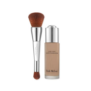 Trish McEvoy Even Skin Water Foundation with WetDry Brush - Tan 2
