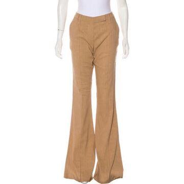 Linen Wide Leg Pants w/ Tags Brown