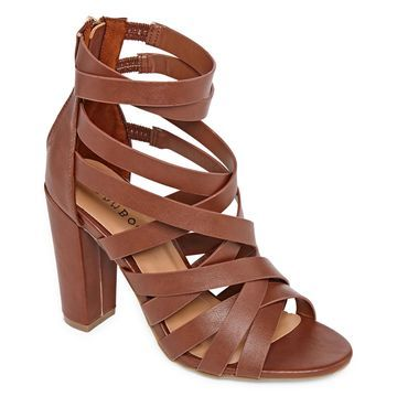 Bamboo Womens Frenzy 83m Heeled Sandals