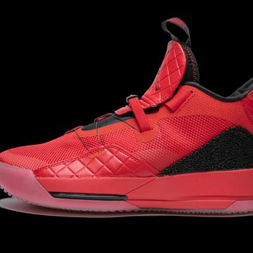 Jordan XXXIII 'University Red' Shoes - Size 9