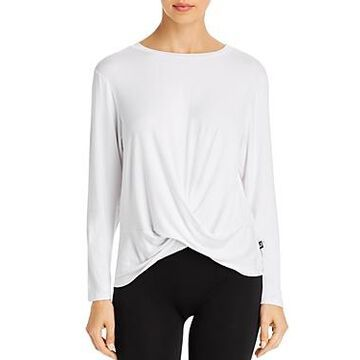 Terez Twist-Front High/Low Tee