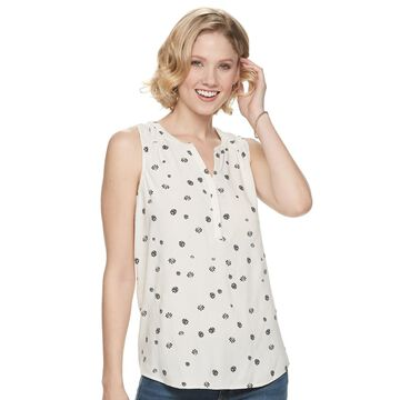 Women's SONOMA Goods for Life Printed Tank Top