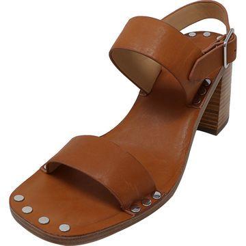 Jil Sander Navy Women's Juno Leather Ankle-High Heel