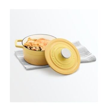 Martha Stewart Collection Enameled Cast Iron 2-Qt. Round Covered Dutch Oven, Created for Macy's