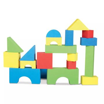 Edushape& 32-Piece Big Edu-Color Blocks Set