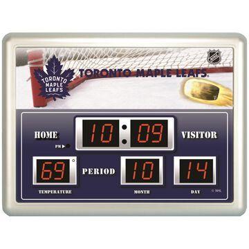 Toronto Maple Leafs 14'' x 19'' Scoreboard Clock