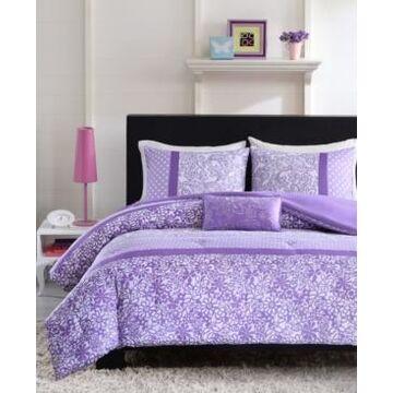 Mi Zone Riley 4-Pc. Full/Queen Comforter Set Bedding