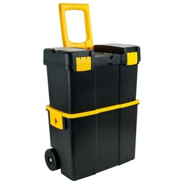 Stackable Mobile Tool Box with Wheels by Stalwart