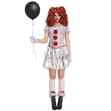 Fun World Female Carnevil Adult Costume-Large
