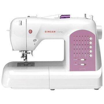 Singer 8763 Curvy Electronic Sewing Machine With Swift Smart Threading System
