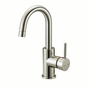 Design House 547570 Eastport Single-Handle Bar Faucet, Satin Nickel