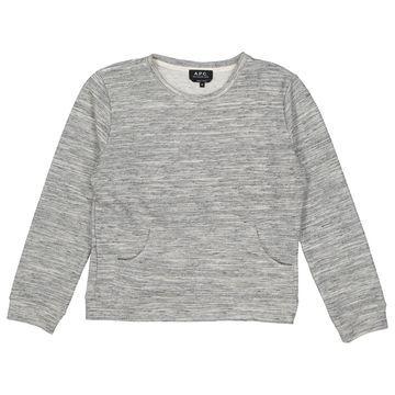 Apc \N Grey Cotton Knitwear