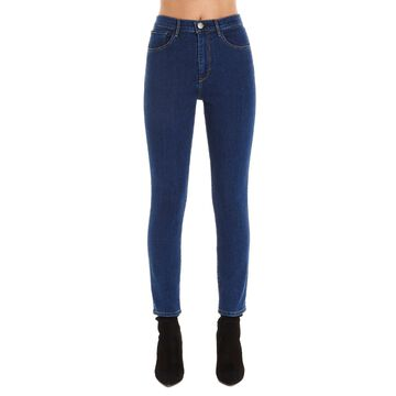 3x1 high Rise Skinny Crop Jeans