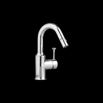 American Standard 4332.410.F15 Pekoe 1.5 GPM Pullout Bar / Prep Faucet Polished Chrome Faucet Bar Single Handle