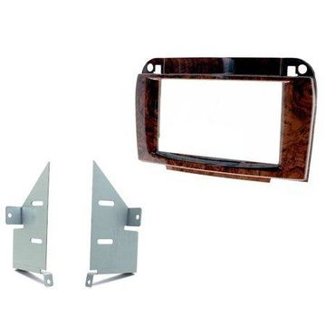 SCOSCHE MZ2355DDB 1998-05 Mercedes CL500 Double DIN Kit; Wood Look Finish
