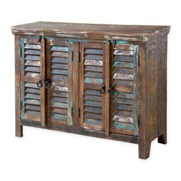 Stein World Bramore Cabinet in Reclaimed Wood Finish
