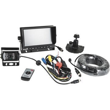 Buyers Products Rear Observation System with Night Vision Backup Camera - 1 Camera, 7Inch Color Monitor, Model 8883000