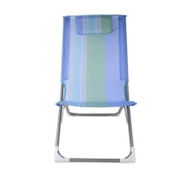 Striped Folding Beach Chair by Ashland