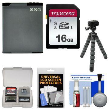 Essentials Bundle Kit for Panasonic Lumix DMC-TS5 ZS30 ZS35 ZS40 LZ40 Camera
