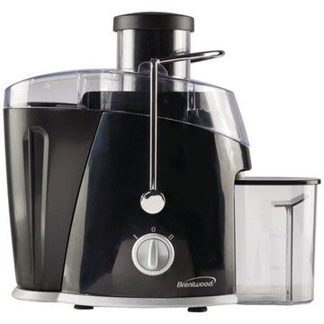 Brentwood JC-452B 2-Speed 400w Juice Extractor with Graduated Jar, Black