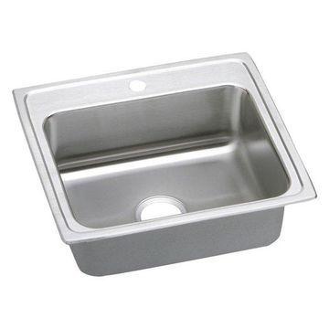 Elkay LR25211 Gourmet Stainless Steel Single Bowl Sink