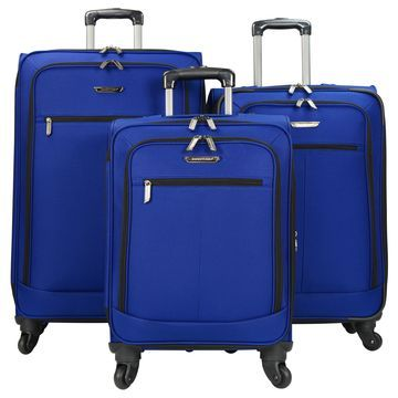 Traveler's Choice Lightweight Expandable 3-piece Spinner Luggage Set