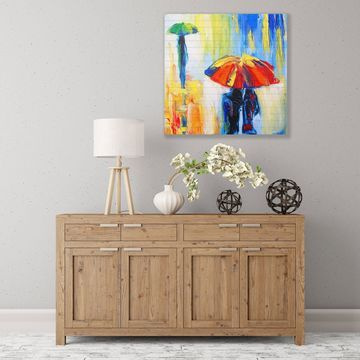 ArtWall Downpour Wood Pallet Art