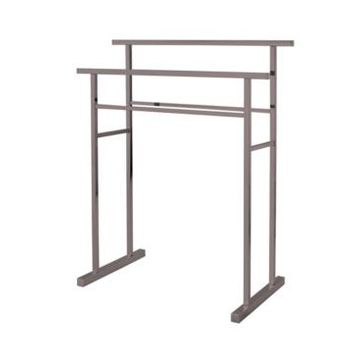 Kingston Brass Pedestal Steel Construction Towel Rack Bedding