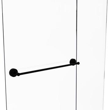 MC-41-SM-30-BKM Monte Carlo Collection 30 in. Shower Door Towel Bar, Matte Black