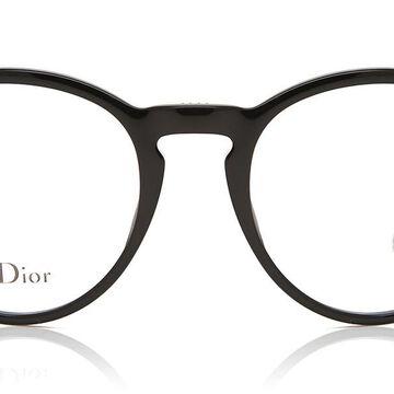 Dior MONTAIGNE 53 807 Womenas Glasses Black Size 48 - Free Lenses - HSA/FSA Insurance - Blue Light Block Available