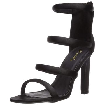 Qupid Womens Hurst-16 Open Toe Special Occasion Ankle Strap