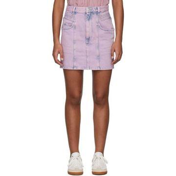 Isabel Marant Etoile Pink Denim Hondo Skirt