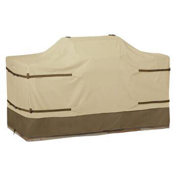 Classic Accessories Veranda 44-in W x 52-in H Pebble/Earth/Bark Gas Grill Cover in Brown | 55-630-051501-00