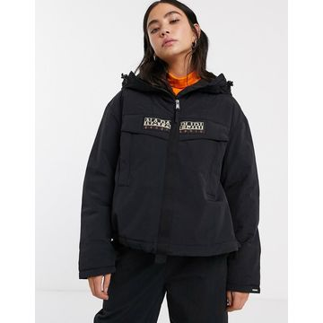 Napapijri Skidoo Creator overhead jacket in black