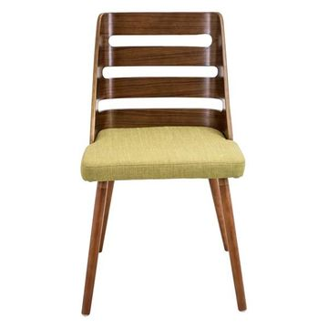 lumisource Trevi Dining Chair, Green