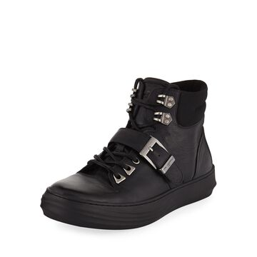 Mens' High-Top Sneaker-Style Boots