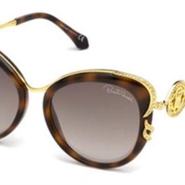Roberto Cavalli RC 1073 52G Womenas Sunglasses Tortoise Size 56