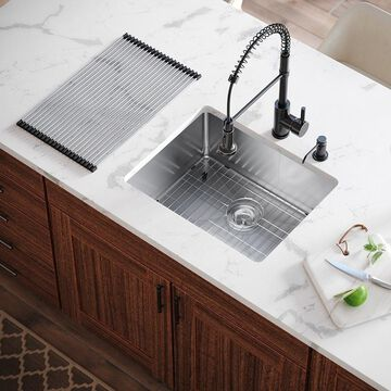 MR Direct All-in-one Kitchen Sink