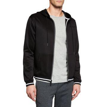 Men's Hooded Kidult Track Jacket