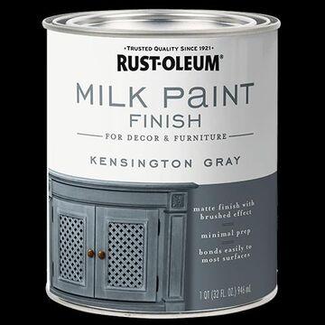 235048 30 oz Milk Paint, Kensington Gray