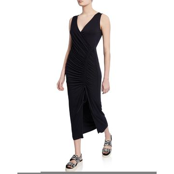 Aphrodite Ruched Sleeveless Dress