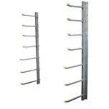 SR-WM Wall Mounted Material Rack, 1000 lbs