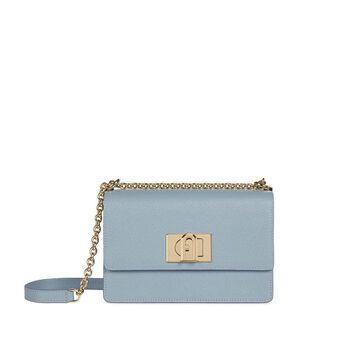 Furla 1927 Mini Light Blue Crossbody Bag