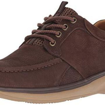 Propet Men's Orson Oxford, Brown, 10 D US