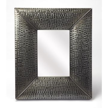 Butler Lehigh Hammered Iron Wall Mirror