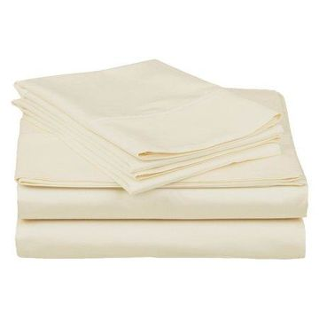 Superior 400 Thread Count Egyptian Quality Cotton Solid Sheet Set