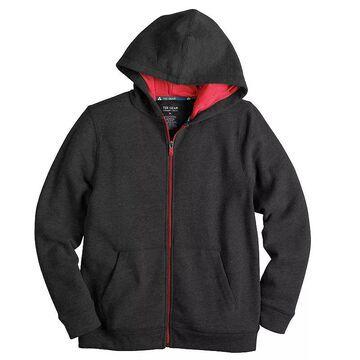 Boys 8-20 Tek Gear Ultra Soft Full-Zip Hoodie, Boy's, Size: Medium HUSKY, Oxford