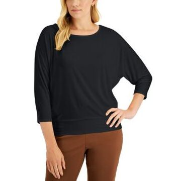 Jm Collection Banded Hem Top, Created for Macy's
