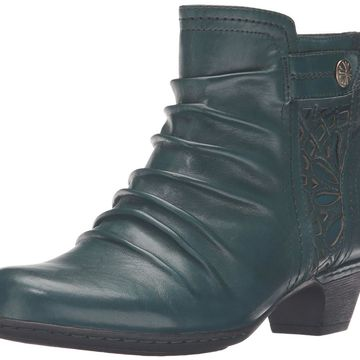 Cobb Hill Womens Abilene-Ch Leather Closed Toe Ankle